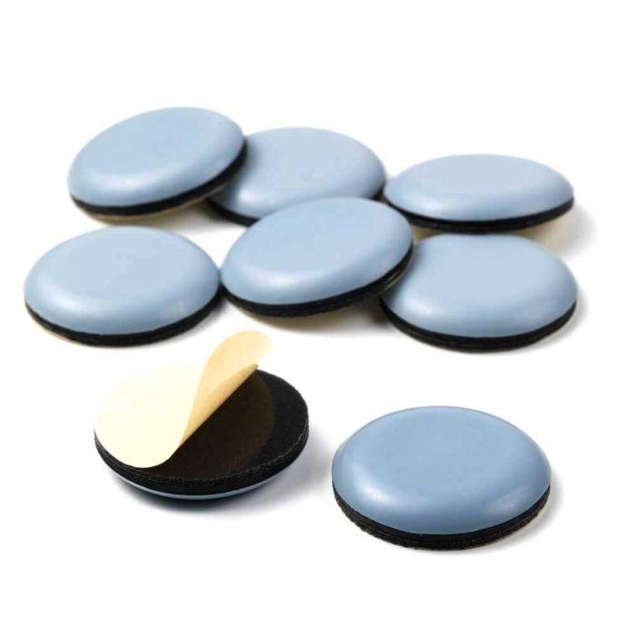 HARO Stuhlgleiter aus Teflon (PTFE) - selbstklebend rund
