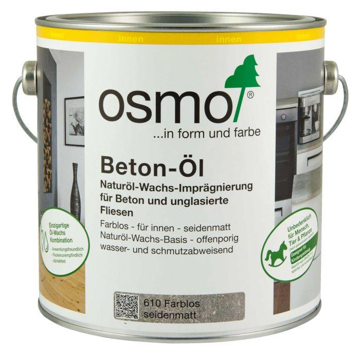 Osmo Beton-Öl Naturöl-Wachs-Imprägnierung 610 Farblos