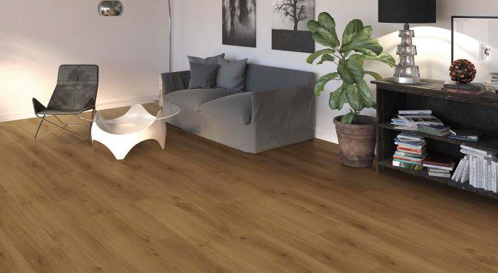 HARO Laminat Tritty 100 Eiche Emilia bernstein Landhausdiele 4V Interieur