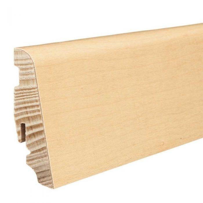HARO Stecksockelleiste Ahorn strukturiert furniert matt-versiegelt