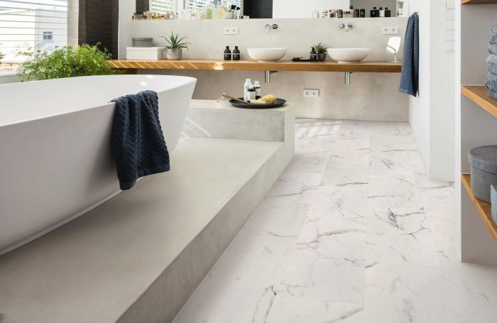 HARO Disano Project Marmor Weiss Piazza 4VM Interieur