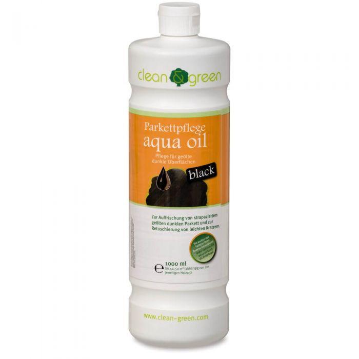 HARO clean & green Parkettpflege aqua oil black