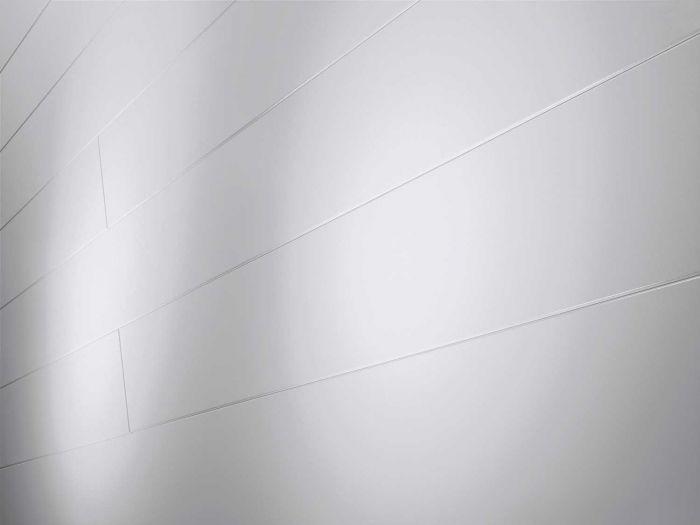 Parador Paneele Novara Seidenmatt weiß Seite