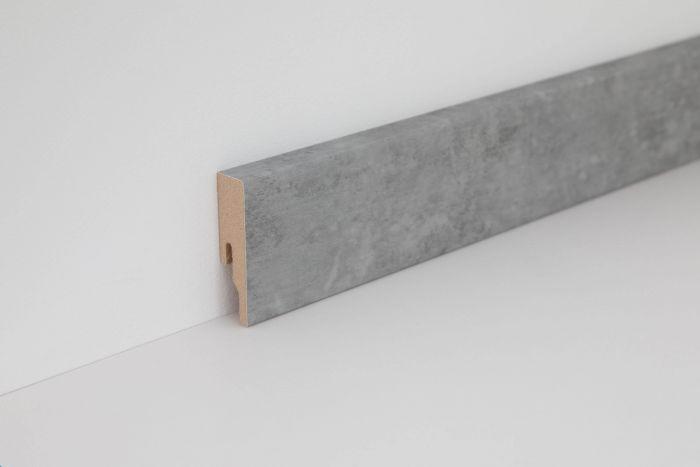 Wineo Sockelleiste Courage Stone Grey