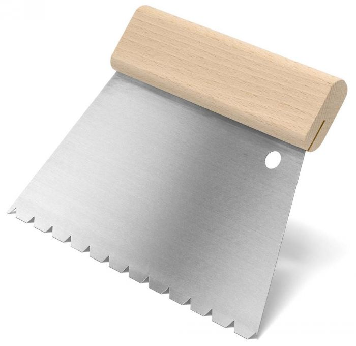 HARO Spezialzahnspachtel L für 3-Schicht-Parkett