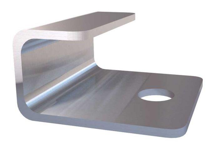 UPM ProFi Design Start Clip (50 Stück + 50 Schrauben)