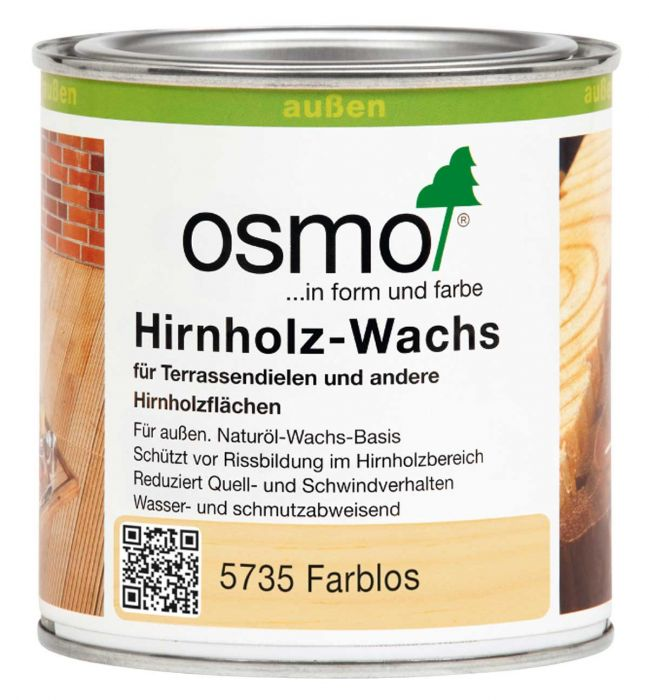 Osmo Hirnholzwachs 5735 Farblos 0,375l