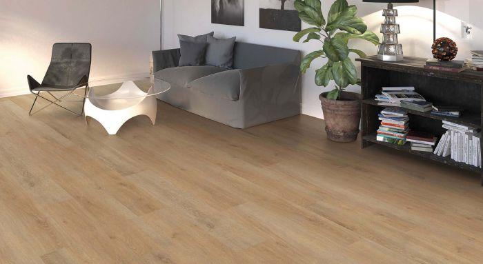HARO Laminat Tritty 100 Eiche Eleganza cremeweiß Landhausdiele 4V Interieur