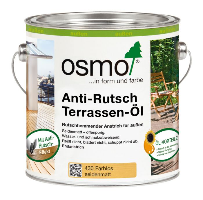 Osmo Anti-Rutsch Terrassen-Öl 430 Farblos