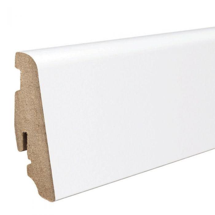 HARO Sockelleiste Laminat weiß 19x58mm